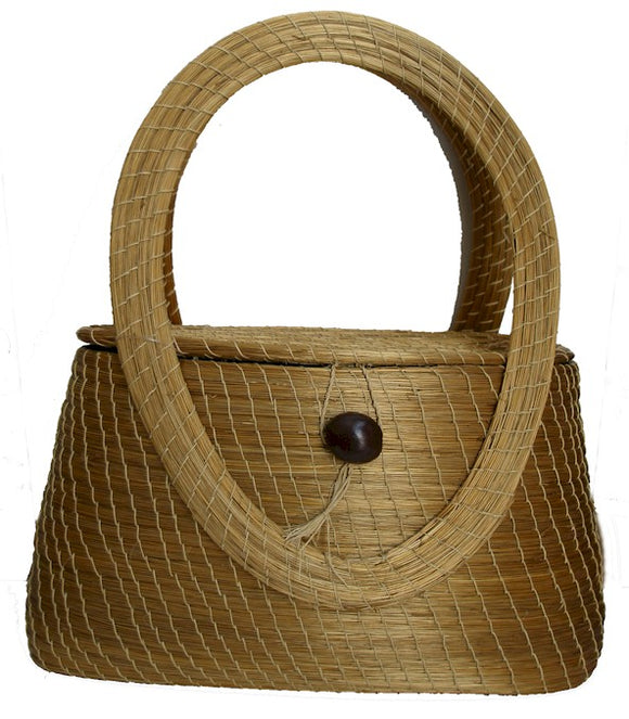 Golden Grass Handbag, Hirma