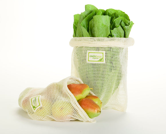 Mesh Produce Bags - Combo Pack (2 large/2 medium)