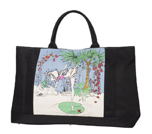 Sophia Weekender Tote Bag - Kissing The Frog