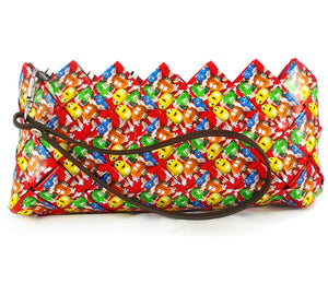 Baguette Clutch Bag - Red Cherry M&M's