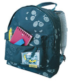 Recycled Polyester Backpack - Teal Panda Trunk Pack