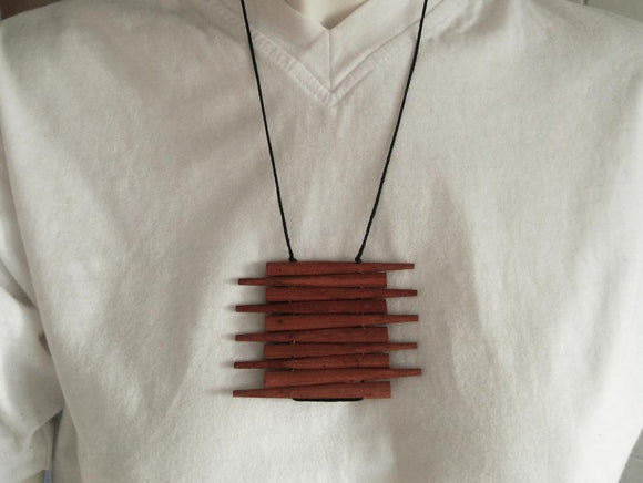 Chopstick Necklace
