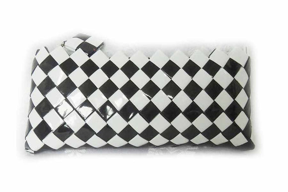 Clutch purse - Black & White