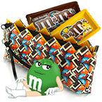 Baguette Clutch Bag - Choco M&M's