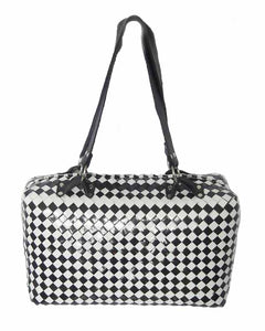 Shoulder Bag- Black & White