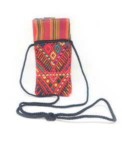 Guatemalan Eyeglass Holder made from recycled textiles