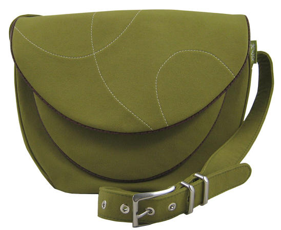 Honesty Handbag made from recycled microsuede