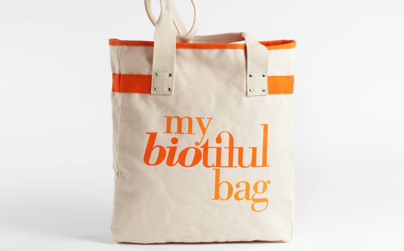 my biotiful Organic Cotton Tote Bag