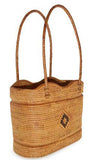 Ata grass handbag, Summer Scallops