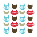 People Towels® - Serviettes personnelles réutilisables- Meow