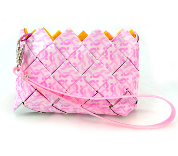 Coin purse - Pink Ribbons