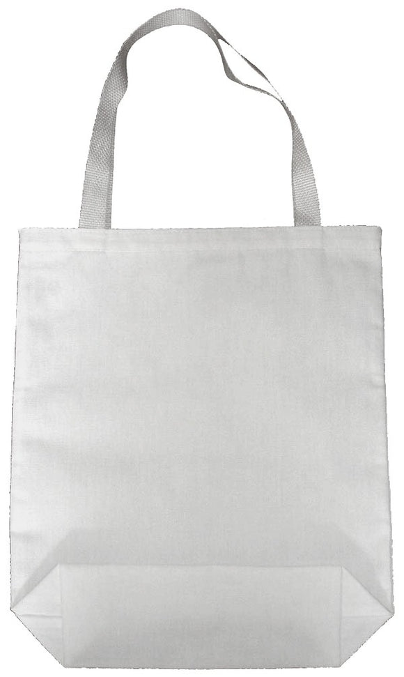 Ecospun Canvas Tote Bags made from 100% plastic bottles-White