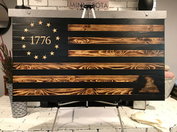 The Rustic Betsy Ross with Gadsden