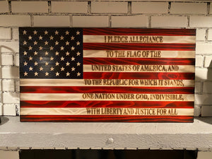 The Original Pledge of Allegiance Flag