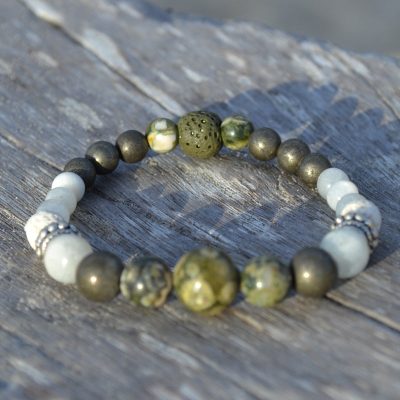 Star Wolf Essential Oil Bracelet