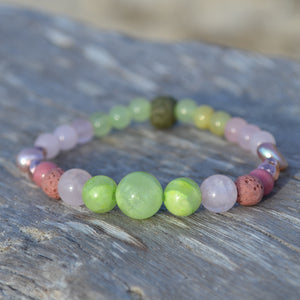 Green Tara Essential Oil Bracelet