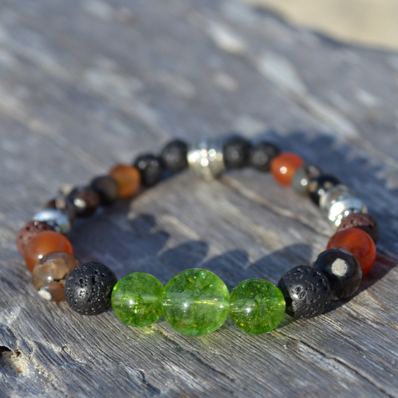 Goddess Pele Bracelet Stack of Three