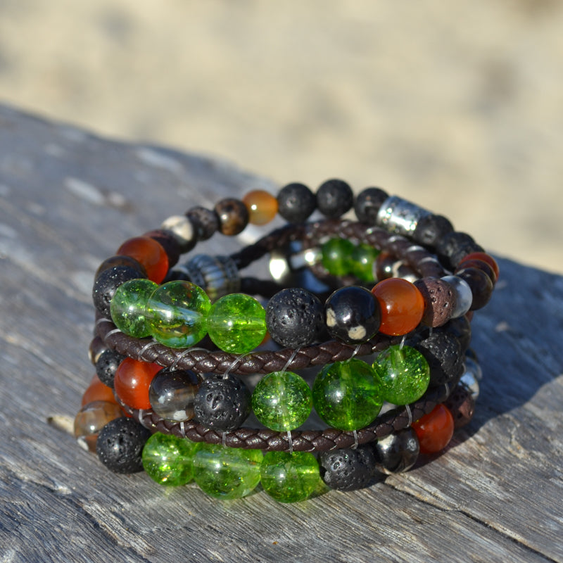 Goddess Pele Essential Oil Bracelet