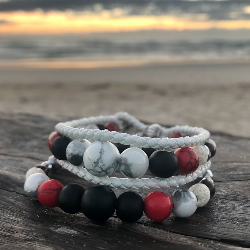 Guardian of The Grail Essential Oil Bracelet Stack of Two