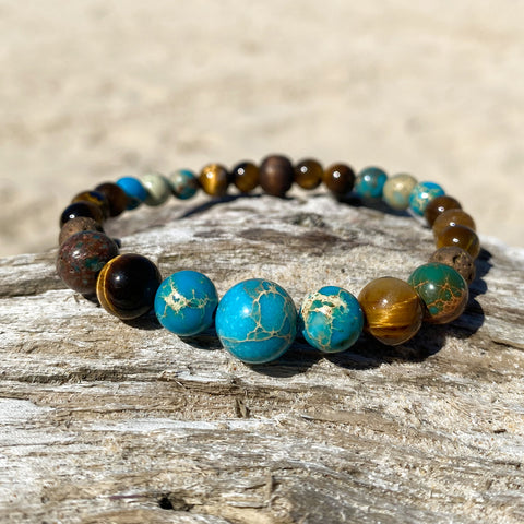 Black Panther Essential Oil Bracelet