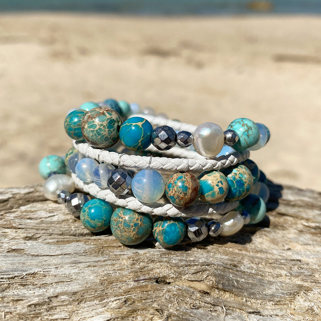 Ocean Blue Stack of 3