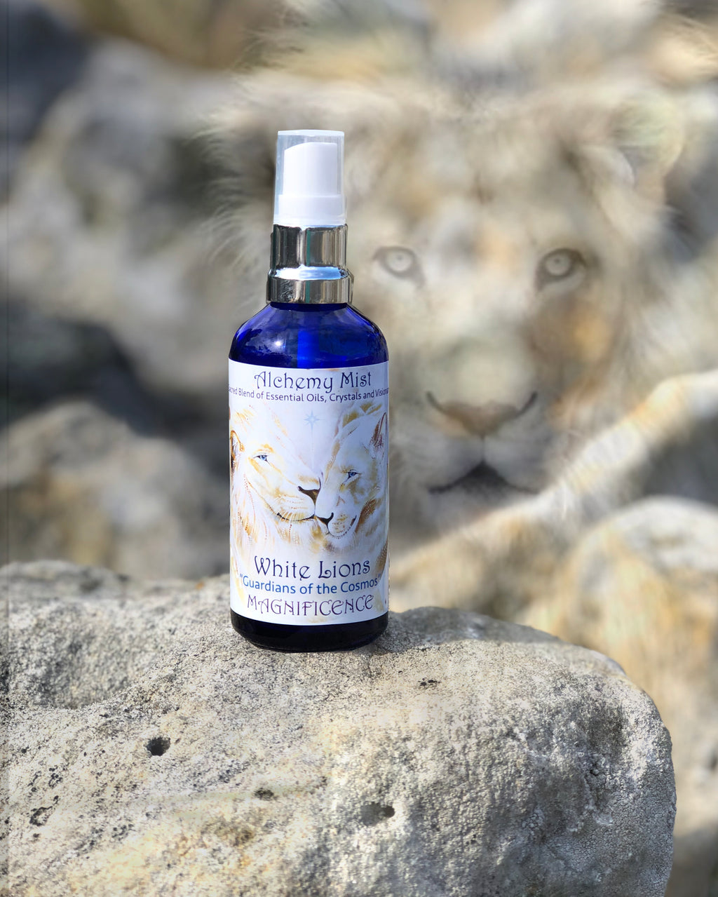 Alchemy mist used for cleansing the Aura and personal spaces at home and at work. Contains essential oils and crystal essences. Artisan crafted in Byron Bay.