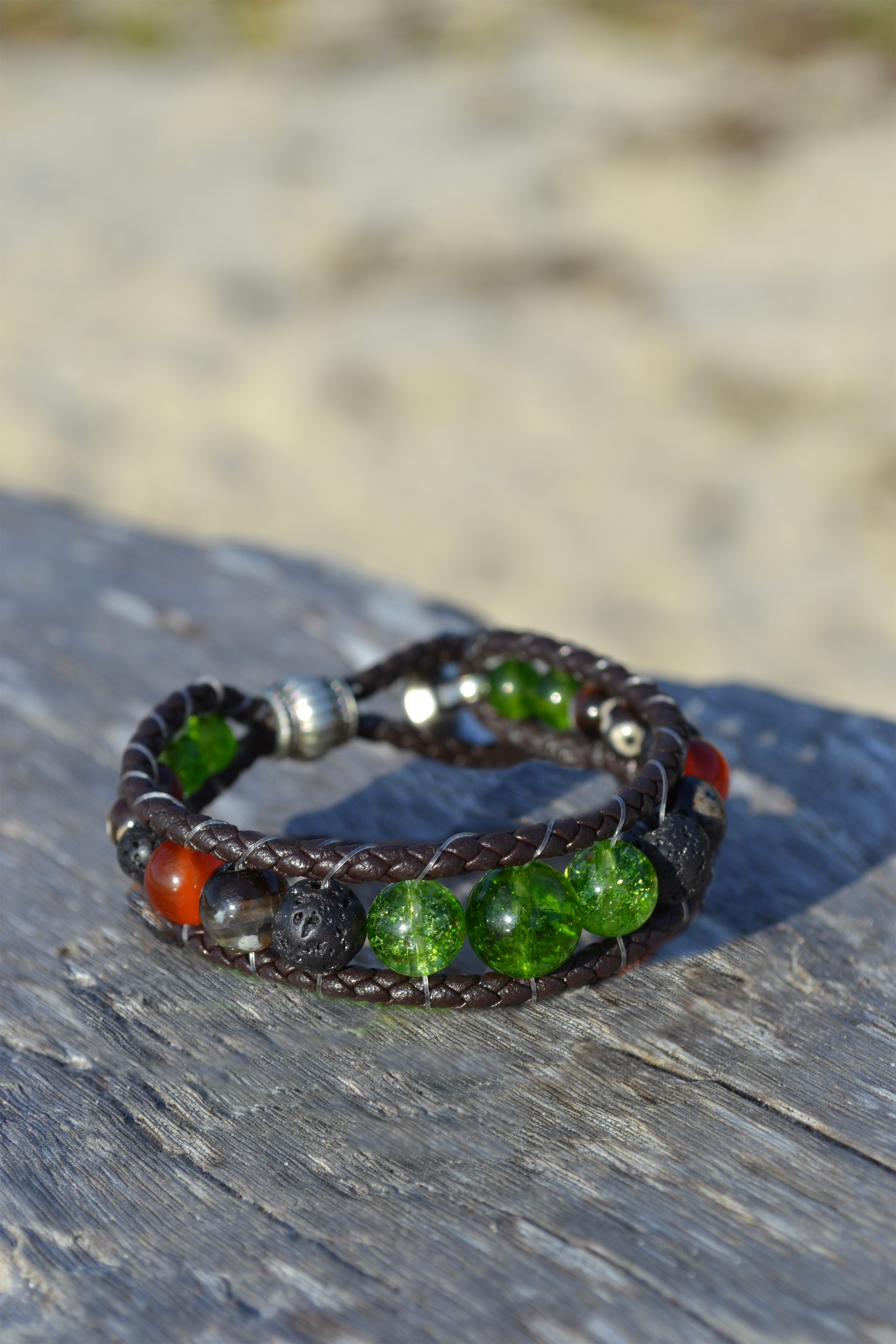 Goddess Pele Bracelet Stack of Two