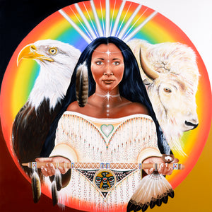 """WHITE BUFFALO CALF WOMEN"""
