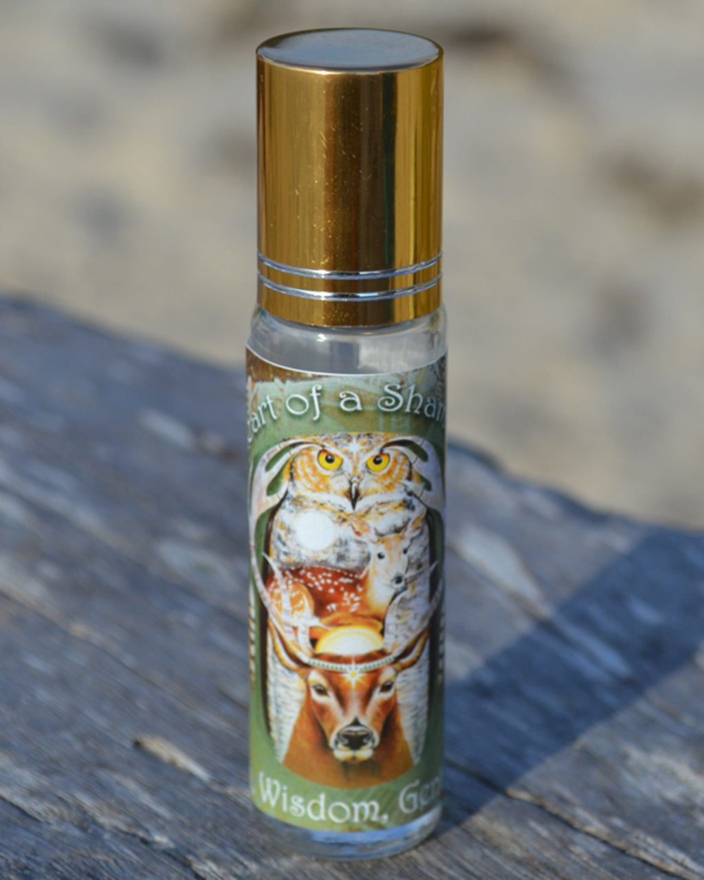 """HEART OF A SHAMAN"" ESSENTIAL OIL PERFUME"