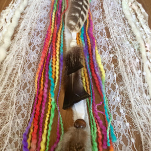 White Buffalo Calf Woman SpiritArt Mandala Dreamcatcher