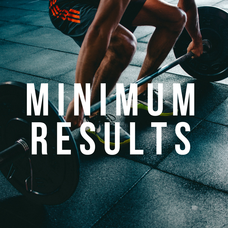 MINIMUM RESULTS PACKAGE