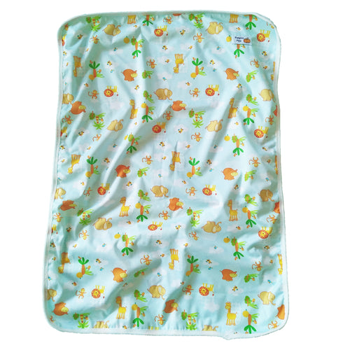 safari animals baby boy change mat