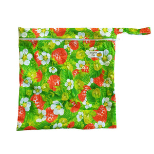 strawberry patch wet bag for cloth nappies