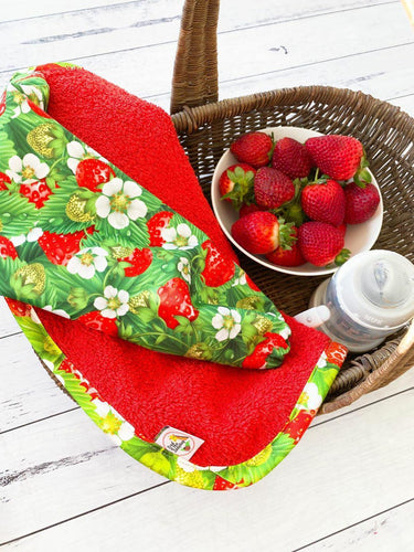 Strawberry Patch Smock