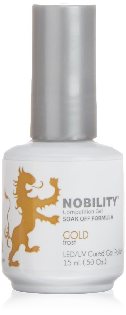 LeChat Nobility Gel Polish - 15 mL (Gold - NBGP05)