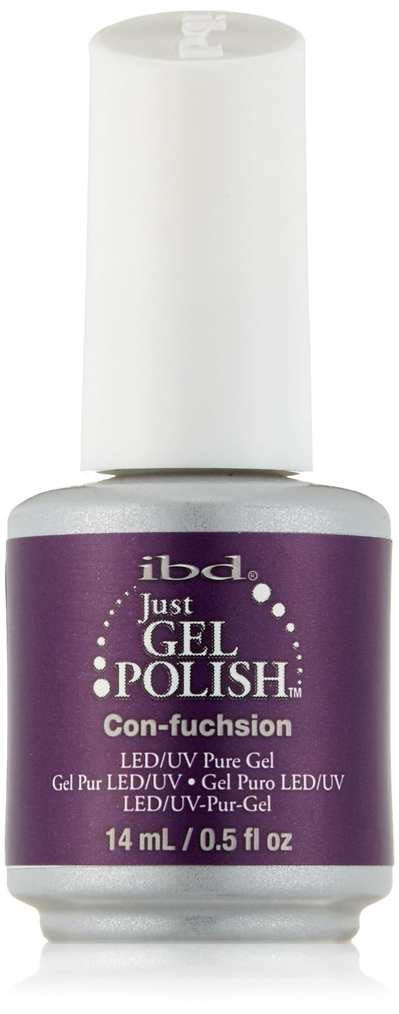 IBD Just Gel Polish - 0.5 oz (Con-fuchsion - IBD56525)