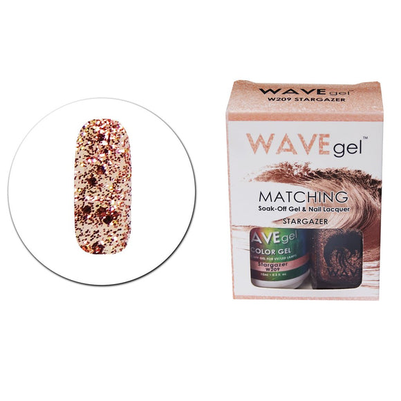Wave Gel Matching Duo (Stargazer - W209)