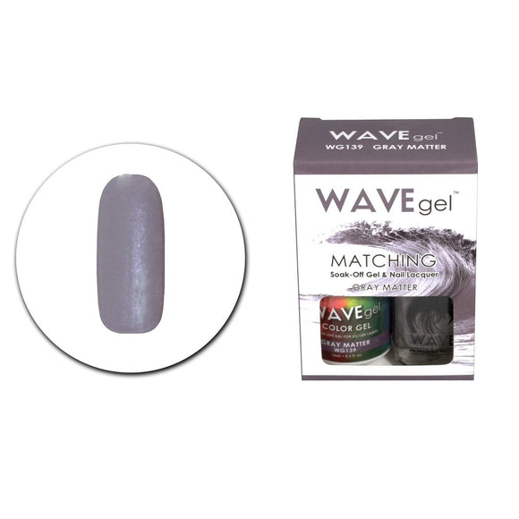Wave Gel Matching Duo (Gray Matter - W139)