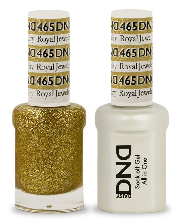 DND Gel & Matching Polish - Duo - (Royal Jewelry - DD465)