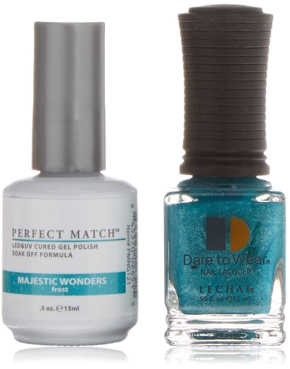 LeChat Perfect Match Nail Polish - 0.5 Oz (Majestic Wonders - PMS121)