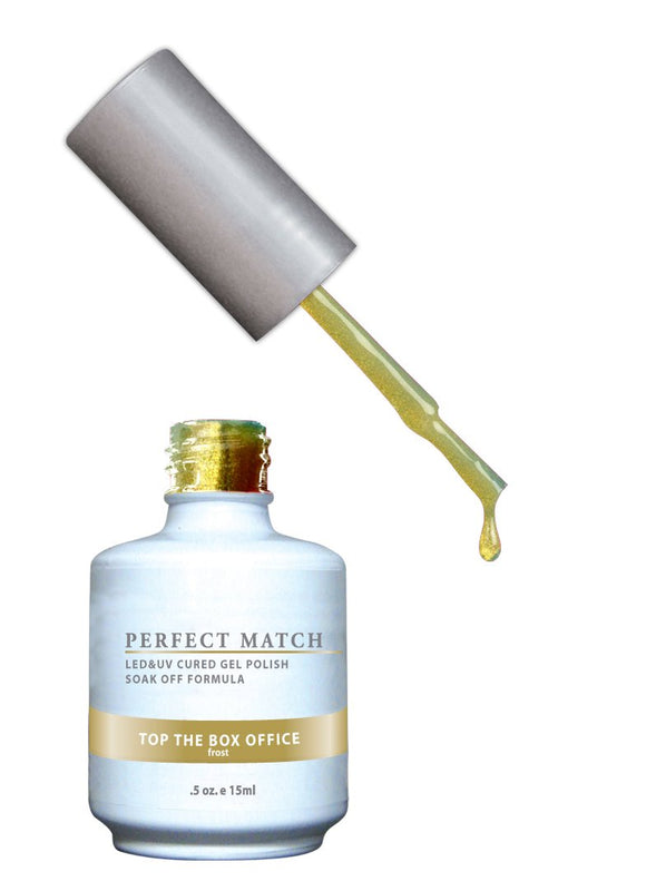 LeChat Perfect Match Nail Polish - 0.5 Oz (Top The Box Office - PMS082)