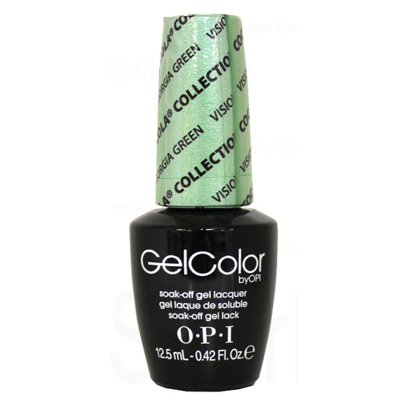 OPI GelColor - 15 mL (Visions Of Georgia Green - OPIC93)