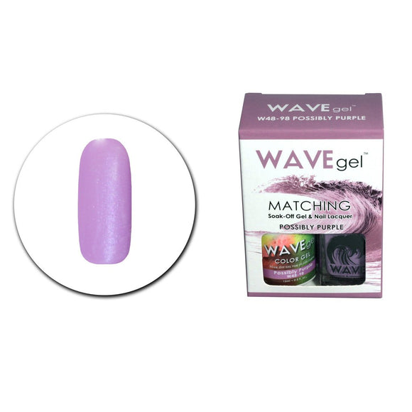 Wave Gel Matching Duo (Possibly Purple - W4898)