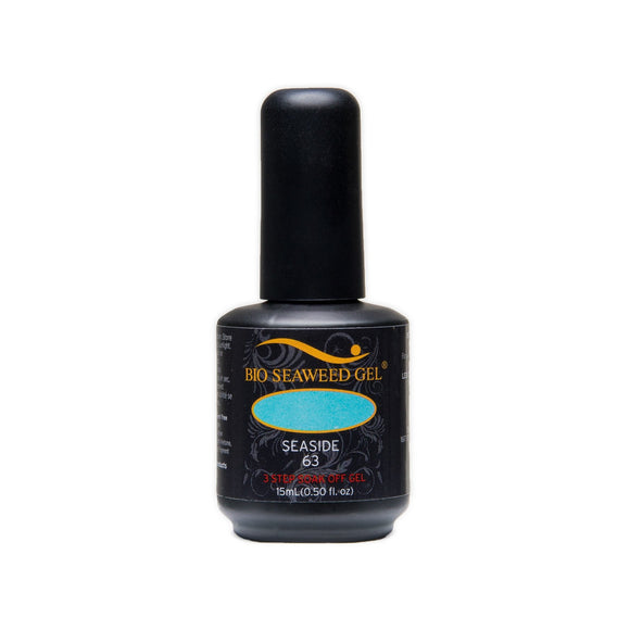Bio Seaweed Gel 3Step Colour Gel Polish - 15 mL (Seaside - BSG63)