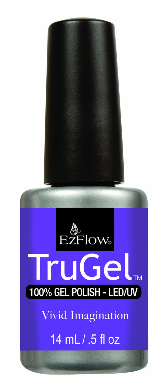 Ez Flow TruGel LED/UV Gel Polish - 14 mL (Vivid Imagination - EZTG42483)