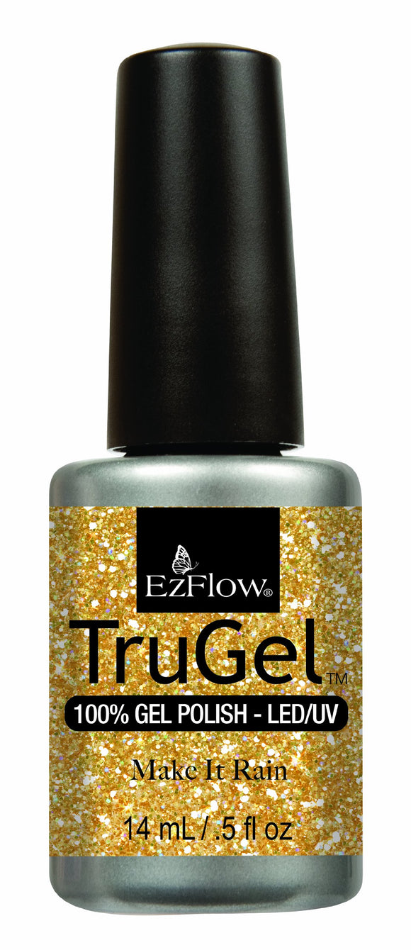 Ez Flow TruGel LED/UV Gel Polish - 14 mL (Make It Rain - EZTG42481)