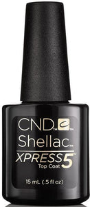 CND Shellac Xpress 5 Top Coat-15 mL (Shellac Xpress 5 Top Coat-CND90929)