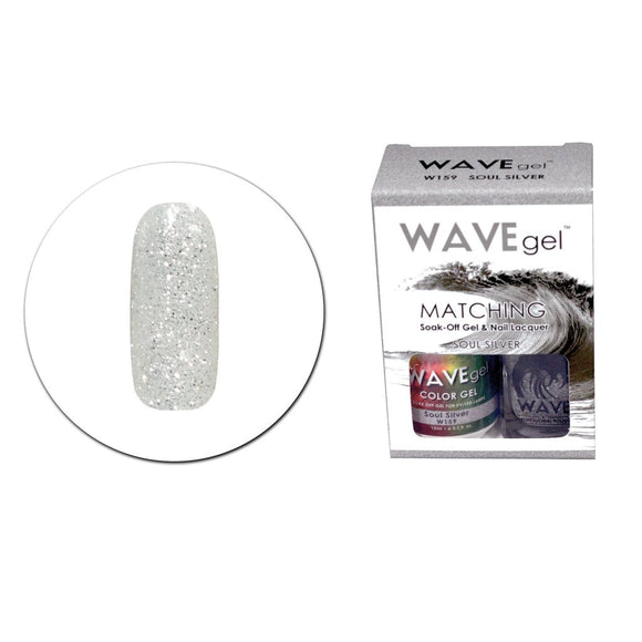 Wave Gel Matching Duo (Soul Silver - W159)