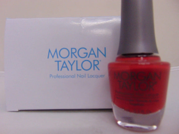 Morgan Taylor Professional Nail Lacquer  - 15 mL (Ruby Two-shoes - MT50189)