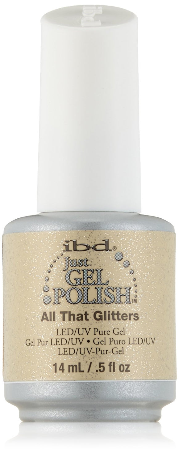 IBD Just Gel Polish - 0.5 oz (All That Glitters  - IBD56540)